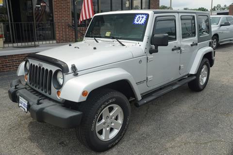 2007 Jeep Wrangler Unlimited for sale in Richlands, VA