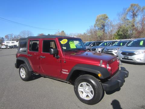2012 Jeep Wrangler Unlimited for sale in Middleton, MA