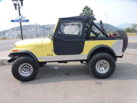 1983 Jeep CJ-7 for sale in Eagle, CO