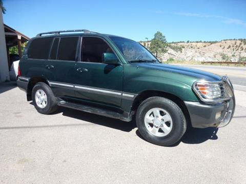 1998 Toyota Land Cruiser for sale in Eagle, CO