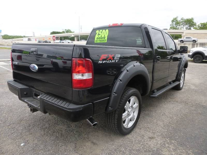 2007 ford f-150 fx2 4dr supercrew styleside 5.5 ft. sb in san