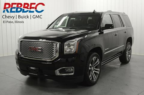 2017 GMC Yukon for sale in El Paso, IL