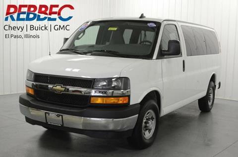 2017 Chevrolet Express Passenger for sale in El Paso, IL