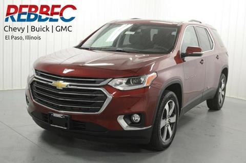 2018 Chevrolet Traverse for sale in El Paso, IL