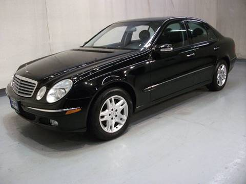 Used 2004 mercedes benz e class for sale in ohio for Used mercedes benz for sale in ohio