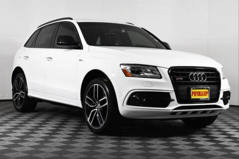2017 Audi SQ5 3.0T quattro Premium Plus for sale at Chevrolet Buick GMC of Puyallup in Puyallup WA