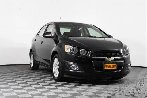 2016 Chevrolet Sonic for sale at Chevrolet Buick GMC of Puyallup in Puyallup WA