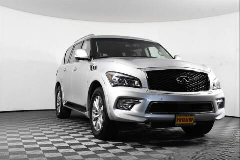 2017 Infiniti QX80 for sale at Chevrolet Buick GMC of Puyallup in Puyallup WA