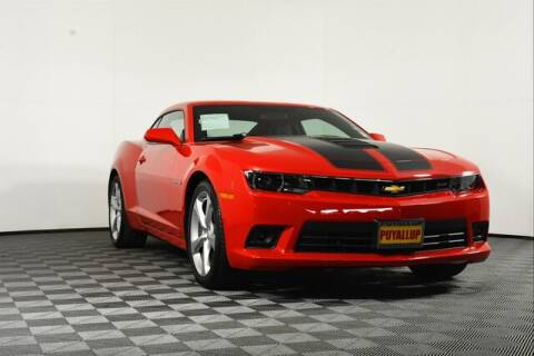 2015 Chevrolet Camaro for sale at Chevrolet Buick GMC of Puyallup in Puyallup WA