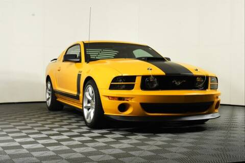 2007 Ford Mustang for sale at Chevrolet Buick GMC of Puyallup in Puyallup WA