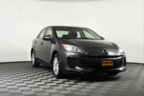 2012 Mazda MAZDA3 for sale at Chevrolet Buick GMC of Puyallup in Puyallup WA