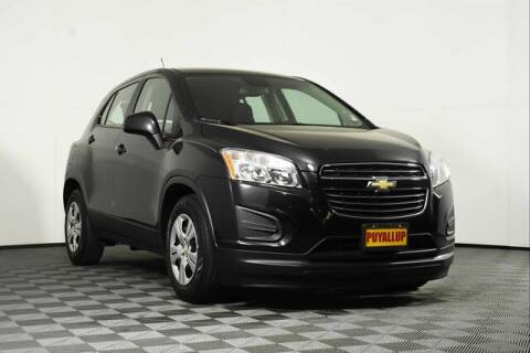 2015 Chevrolet Trax for sale at Chevrolet Buick GMC of Puyallup in Puyallup WA