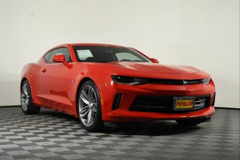2017 Chevrolet Camaro for sale at Chevrolet Buick GMC of Puyallup in Puyallup WA