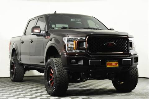 2018 Ford F-150 for sale at Chevrolet Buick GMC of Puyallup in Puyallup WA