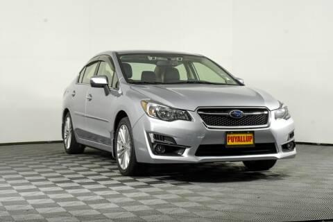 2016 Subaru Impreza for sale at Chevrolet Buick GMC of Puyallup in Puyallup WA