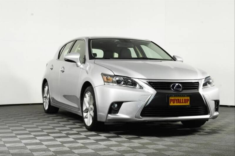 2015 Lexus CT 200h for sale at Chevrolet Buick GMC of Puyallup in Puyallup WA