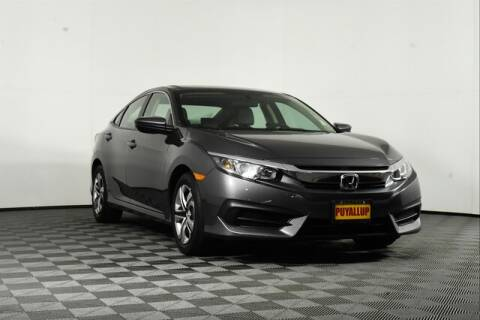 2016 Honda Civic for sale at Chevrolet Buick GMC of Puyallup in Puyallup WA