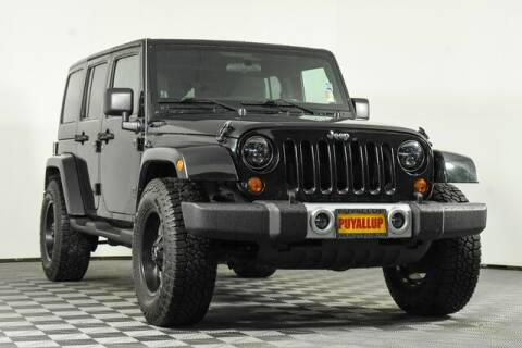 2012 Jeep Wrangler Unlimited for sale at Chevrolet Buick GMC of Puyallup in Puyallup WA