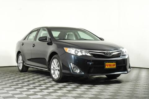 2012 Toyota Camry for sale at Chevrolet Buick GMC of Puyallup in Puyallup WA