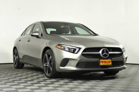 2019 Mercedes-Benz A-Class for sale at Chevrolet Buick GMC of Puyallup in Puyallup WA