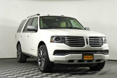 2016 Lincoln Navigator for sale at Chevrolet Buick GMC of Puyallup in Puyallup WA