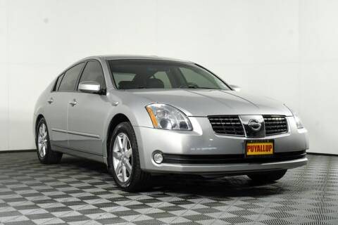 2006 Nissan Maxima for sale at Chevrolet Buick GMC of Puyallup in Puyallup WA
