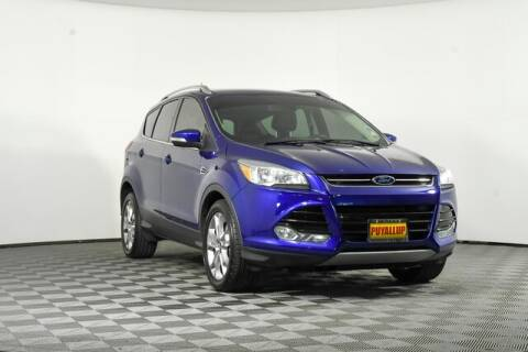 2015 Ford Escape for sale at Chevrolet Buick GMC of Puyallup in Puyallup WA