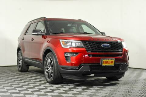 2019 Ford Explorer for sale at Chevrolet Buick GMC of Puyallup in Puyallup WA