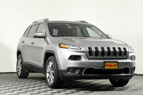 2018 Jeep Cherokee for sale at Chevrolet Buick GMC of Puyallup in Puyallup WA