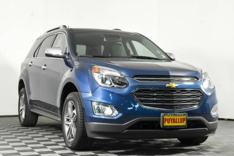 2017 Chevrolet Equinox for sale at Chevrolet Buick GMC of Puyallup in Puyallup WA