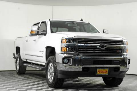 2015 Chevrolet Silverado 3500HD for sale at Chevrolet Buick GMC of Puyallup in Puyallup WA