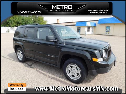 2016 Jeep Patriot for sale in Hopkins, MN