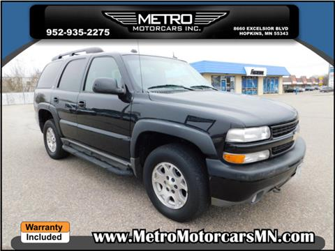 2004 Chevrolet Tahoe for sale in Hopkins, MN
