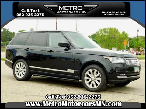 2014 Land Rover Range Rover for sale in Hopkins, MN