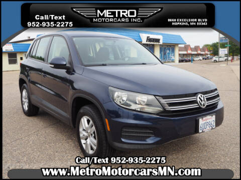 2012 Volkswagen Tiguan for sale in Hopkins, MN