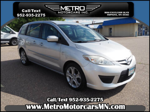 2009 Mazda MAZDA5 for sale at Metro Motorcars Inc in Hopkins MN