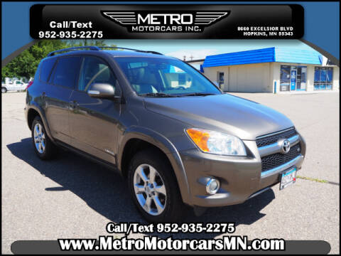 2010 Toyota RAV4 for sale at Metro Motorcars Inc in Hopkins MN