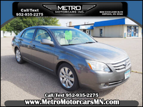 2007 Toyota Avalon for sale at Metro Motorcars Inc in Hopkins MN