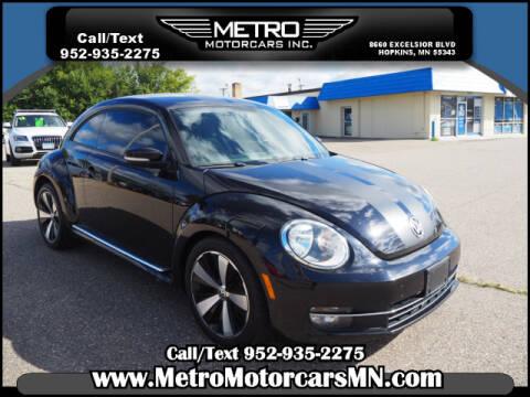 2012 Volkswagen Beetle for sale at Metro Motorcars Inc in Hopkins MN