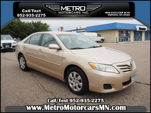 2010 Toyota Camry for sale at Metro Motorcars Inc in Hopkins MN