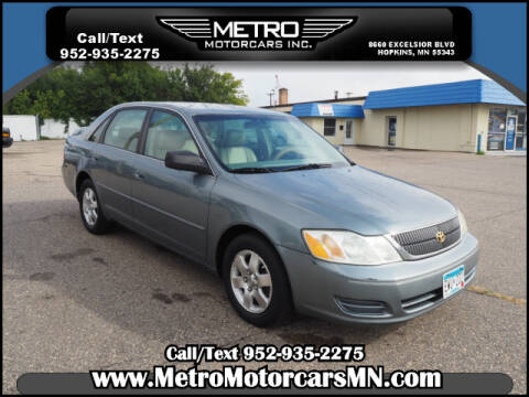 2001 Toyota Avalon for sale at Metro Motorcars Inc in Hopkins MN
