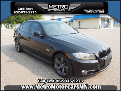 2011 BMW 3 Series for sale at Metro Motorcars Inc in Hopkins MN