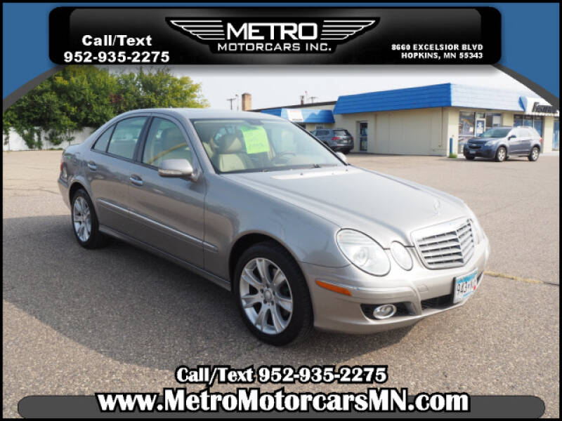 2009 Mercedes-Benz E-Class for sale at Metro Motorcars Inc in Hopkins MN