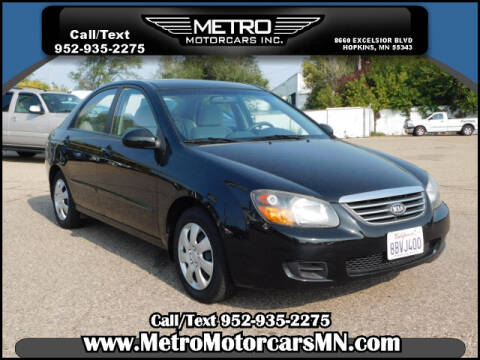 2009 Kia Spectra for sale at Metro Motorcars Inc in Hopkins MN