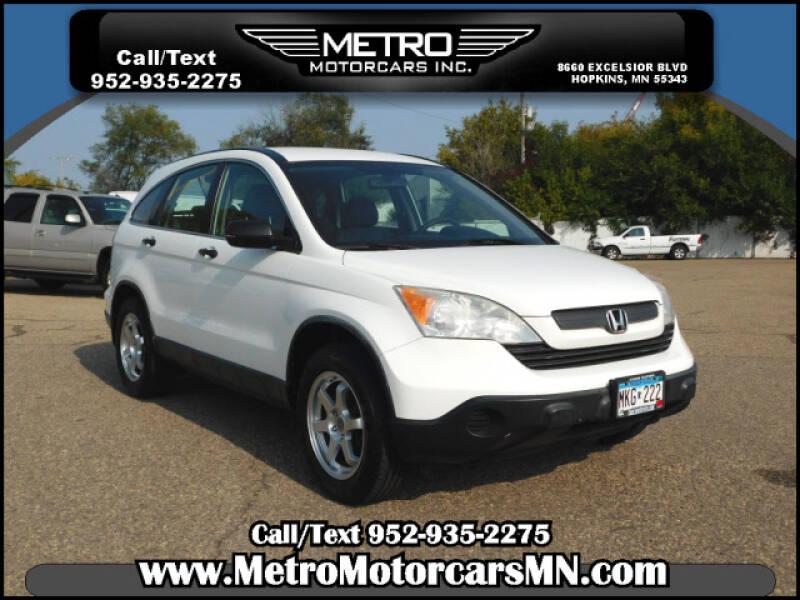 2008 Honda CR-V for sale at Metro Motorcars Inc in Hopkins MN
