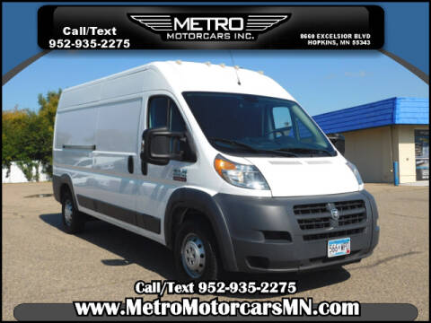 2017 RAM ProMaster Cargo for sale at Metro Motorcars Inc in Hopkins MN
