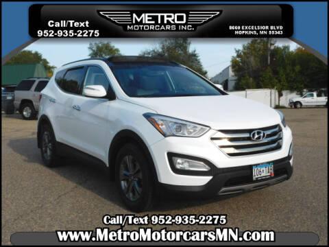 2015 Hyundai Santa Fe Sport for sale at Metro Motorcars Inc in Hopkins MN