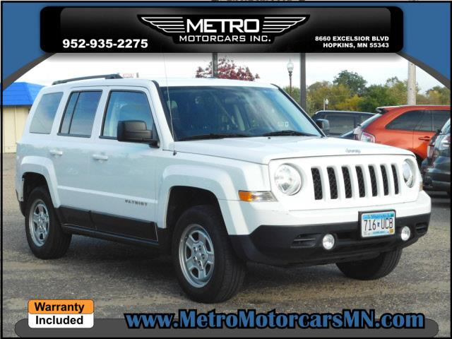 2015 Jeep Patriot 4x4 Sport 4dr SUV - Hopkins MN