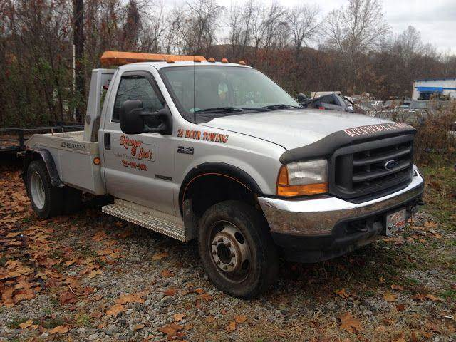 2001 Ford F-450 for sale at RITENOUR & SONS AUTO SALES in Ellsworth PA