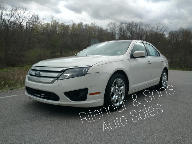 2010 Ford Fusion for sale at RITENOUR & SONS AUTO SALES in Ellsworth PA